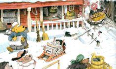 We just love Mauri Kunnas' stories and illustrations!