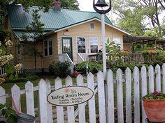 Crane Creek Winery in Hiawassee, GA