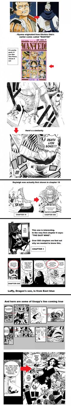 Here's some random One Piece facts I put together... part 1, I think:/