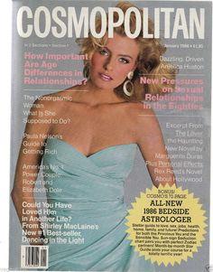 Cosmopolitan magazine, JANUARY 1986  Model: Melanie Kremser Photographer: Francesco Scavullo