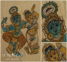 Kalamkari Art – Andhra Pradesh, South India http://www.vrksa.net/gallery.html