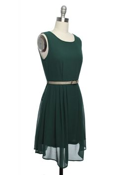 Slither & Shake Dress in Emerald   Vintage, Retro, Indie Style Dresses