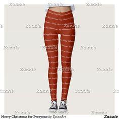 Merry Christmas for Everyone Leggings