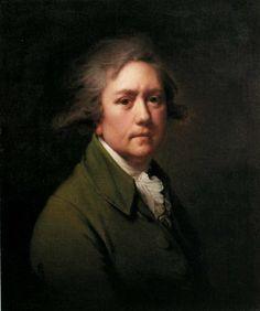 Joseph Wright of Derby - Self Portrait aged abt 50