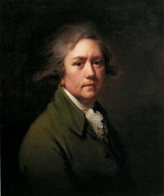 Self-Portrait at the Age of about Fifty, 1782  Joseph Wright