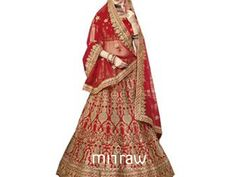 Look the most beautiful bride wearing designer bridal lehengas. Mirraw offering online wedding lehengas at reasonable prices. To check out more designs visit a website. Latest Bridal Lehenga, Bridal Lehenga Online, Bridal Lehenga Choli, Wedding Lehenga Designs, Choli Designs, Beautiful Bride, Website, Check, How To Wear