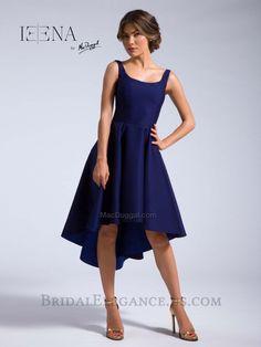 2fe3d7e7ec63 Midnight Blue High Low Cocktail Dress 25096