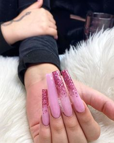 Beauty Tips, Beauty Hacks, Finger Nail Art, Pink Acrylics, Luxury Nails, Baby Registry, Nail Inspo, Nail Tech, Long Nails