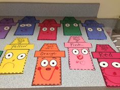 Cute Color Friend Craftivity freebie - amazing art project to go with The Day the Crayons Quit