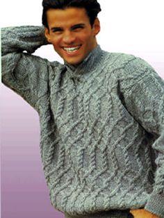Мужской пуловер Размеры: 46/48