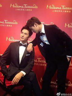 Yang Chinese, Chinese Boy, Mac, Madame Tussauds, Asian Celebrities, Yang Yang, Actor Model, I Movie, Funny Memes