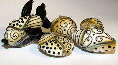 Beautiful!  Jelveh Jaferian beads