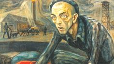 Powerful paintings by an Auschwitz death camp survivor - David Olère - are given to the camp memorial in Poland.