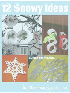 12 Snowy Activities for Kids this Winter