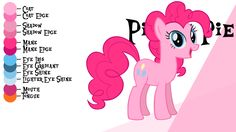 Colour Guide - Pinkie Pie by Liggliluff.deviantart.com on @deviantART