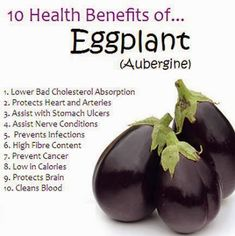 10 Health Benefits of Eggplant
