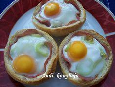 Andi konyhája - Sütemény és ételreceptek képekkel - G-Portál Eggs, Breakfast, Recipes, Food, Morning Coffee, Recipies, Essen, Egg, Meals