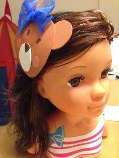 Tocado osito, Teddy Bear headband