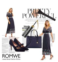 """romwe"" by suger444 ❤ liked on Polyvore featuring Michael Kors and PAS DE ROUGE"