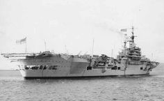 HMS Implacable - Fleet Aircraft Carrier -  Launched 21 February 1942