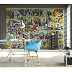 21 Best Marvel Avengers wall mural wallpapers images | Mural art ...