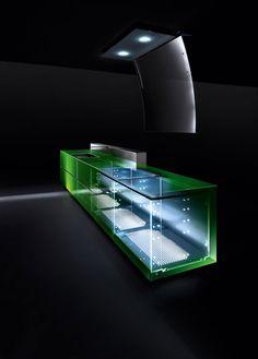 In Vitrum The #glass #kitchen By Valcucine