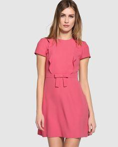 Vestido corto de mujer Red Valentino en color rosa