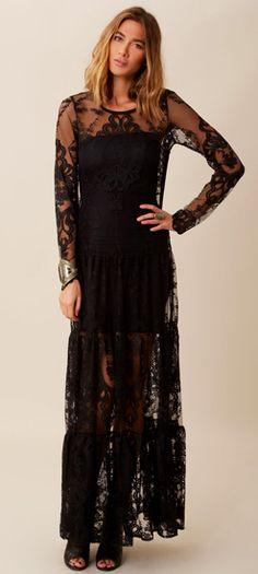 Enchanted Lace Maxi Dress - $253.00