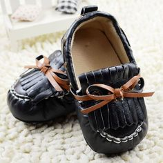 Cute Baby Boy Leather Shoes!