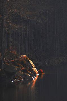 Foresta Alta Val Parma - I Lagoni Ultimo raggio di luce