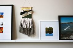 Wink / Wall Hanging / Handmade Textiles by ROVINGTEXTILES on Etsy