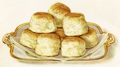 Old Design Shop ~ free digital image: baking powder biscuits