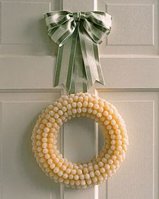 White Christmas: Gumdrop Wreath | Step-by-Step | DIY Craft How To's and Instructions| Martha Stewart