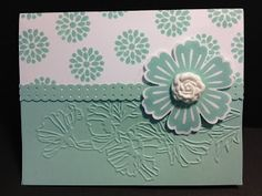 Mixed Bouquet and Simply Pressed Clay Flower Stampin' Up! Rubber Stamping Handmade Cards