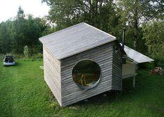 Six-sided modular cabin by Jaanus Orgusaar #architecture