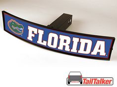 Florida Gators Trailer Hitch Cover Illuminated NCAA by tailtalker