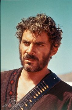 "Still of brilliant actor Gian Maria Volonté as the psychotic ""Indio"" in For a Few Dollars More. (1965)"
