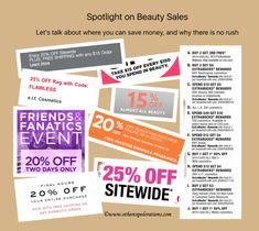 Spotlight on Beauty Sales