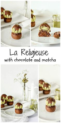 La Religieuse - Matcha Chocolate Religieuse
