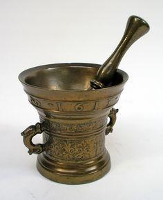 Bronzen vijzel, 1613