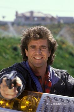 Lethal Weapon 3 - Promo shot of Mel Gibson