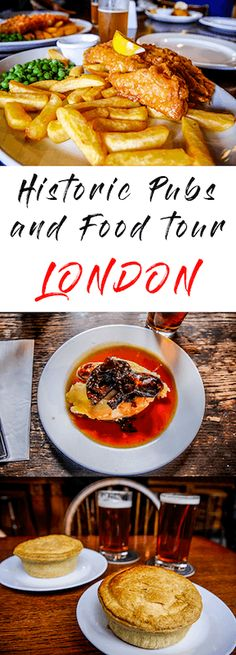 Join the historic pub and food tours in London. Eat and drink your way around five great pubs and hear the stories of their speckled past.
