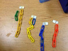 Kindergarten and Mooneyisms: Domino Addition With Manipulatives Kindergarten Fun, Preschool Math, Teaching Math, Math Activities, Kindergarten Addition, Subtraction Activities, Teaching Ideas, Math Stations, Math Centers