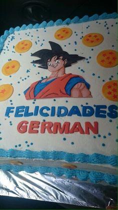 Pastel de Goku