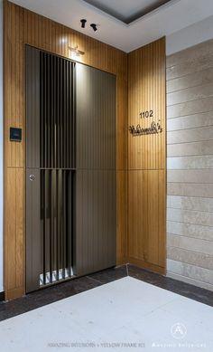 Modern Entrance Door, Main Entrance Door Design, Home Entrance Decor, Door Gate Design, Door Design Interior, Entrance Foyer, Foyer Design, Front Door Design, House Entrance
