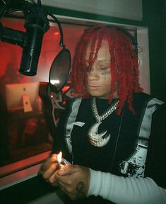 Music Cover Photos, Music Covers, Trippie Redd, Travis Scott, Aesthetic Gif, Aesthetic Wallpapers, Aesthetic Pictures, Homescreen Wallpaper, American Rappers