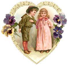 vintage valentine images | Vintage Valentines