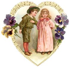 vintage valentine images   Vintage Valentines