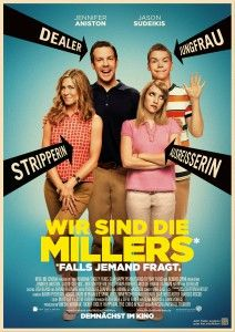 Jennifer Aniston & Jason Sudeikis: 'We're The Millers' Poster!: Photo Jennifer Aniston, Jason Sudeikis, Emma Roberts, and Will Poulter pose a fake family in the poster for their film We're The Millers, in theaters August Here's… Funny Movies, Comedy Movies, Hd Movies, Movies Online, Watch Movies, Funniest Movies, Movies 2014, Movies Free, Popular Movies