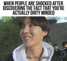 this literally happens all the time to me, like, no, i probably have the dirtiest mind ever lol – Aave - Humor City Memes Humor, Kpop Memes, New Memes, 2ne1, Bts Boys, Bts Bangtan Boy, Bts Jimin, Lol, Namjoon